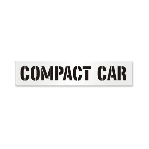 3 inch 60 mil ultraflex ind Compact Parking Lot Stencil