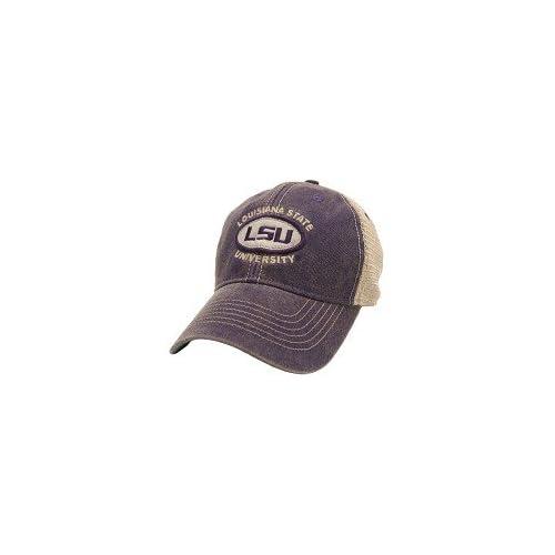 e09c4429 LSU Tigers Hat Adjustable Trucker Style Louisiana State University