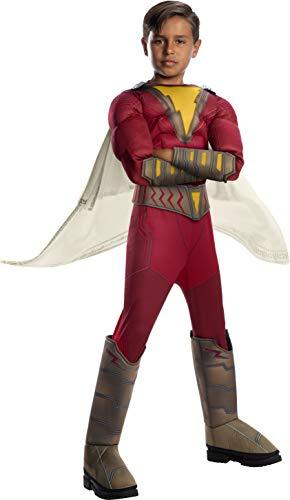 Rubies Oficial DC Comic Shazam! Película, Disfraz de superhéroe para niños