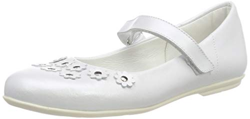 Däumling Mädchen Hillery Geschlossene Ballerinas, Weiß (Perlato Weiss 71), 35 EU