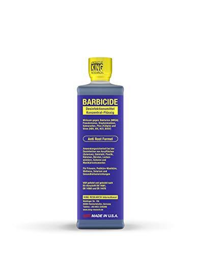 Barbicide Desinfektionsmittel Konzentrat-Flüssig blau eingefärbt - das Original 480 ml