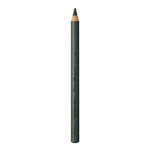 Stargazer Products glitter kajal/lippenstift, smaragd, per stuk verpakt (1 x 1 g)