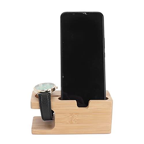 01 Soporte de Reloj, Soporte de Carga Pulido para el hogar para la Oficina para teléfonos Inteligentes
