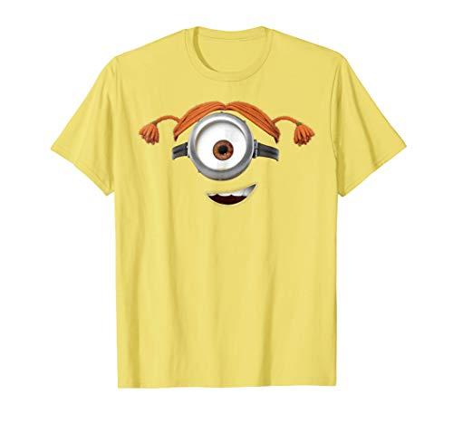 Despicable Me Minions Carl Pigtails Graphic T-Shirt