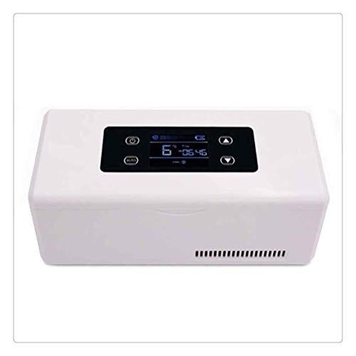 WNDRZ Refrigerador De Vehículos De Refrigeración Potente Portátil Almacenamiento De Artículos Pequeños Mini Nevera Congelador Pantalla Digital LCD