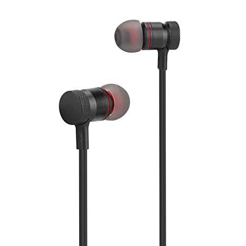 Sport Bluetooth-headset, 20 meter signaalsterkte, hoogwaardig geluid, 200 uur standby-tijd, laag vermogen, magnetische oortelefoon, kan aan de nek worden gehangen, voor op kantoor, werkend