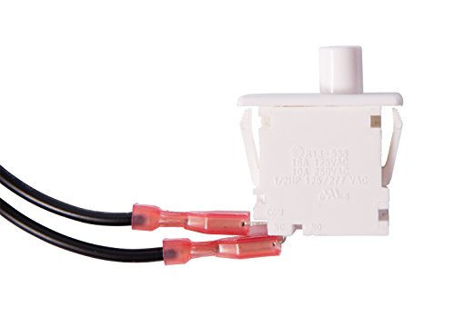 Gardner Bender GSW-26 Electrical Door Switch, SPST, Normally On- Mom OFF, 16 A/125V AC, (Repl. for GSW-SK)