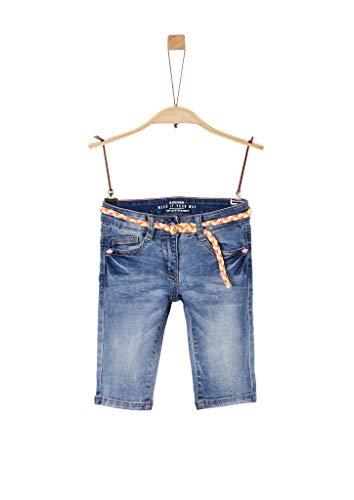 s.Oliver Mädchen 54.899.71 Jeans, Cloud Blue, 128 cm Regular