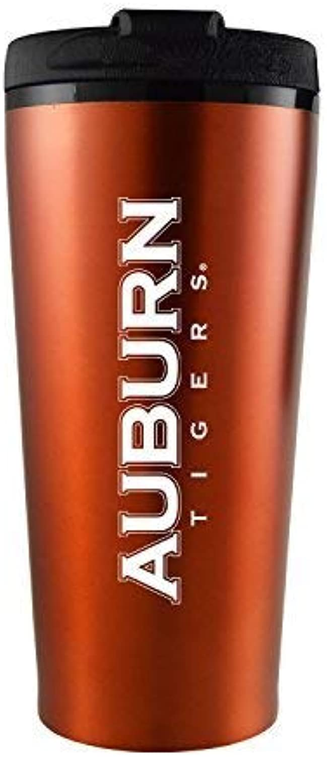 LXG Auburn University  16 oz Travel Mug Tumbler& 44; orange