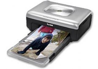 Kodak Fotodrucker PP 300 (Thermosublimation, Format 10x15cm) schwarz/Silber