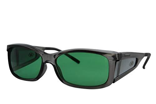 Migräne Blaulicht Schutzbrille von MigraLens | Blaulichtfilter Brille Blockiert Rotlicht und Blaulicht | Empfohlen durch die Migraine Action Association | Unisex