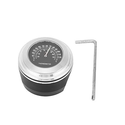 Vobor Termometro per moto modificato Termometro per moto impermeabile modificato per moto Termometro per manubrio per moto impermeabile