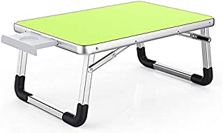 Contempo Views Laptop Desk Bed Table Foldable Tray -Use on The Coach, Floor, Bed - Reading, Writing, Drawing, Computing, Eating (Green)