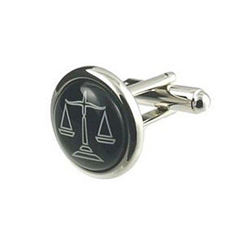 Select Gifts Cuff Links Legales gemelos~Balanzas de la justicia grabado cuadro personalizado