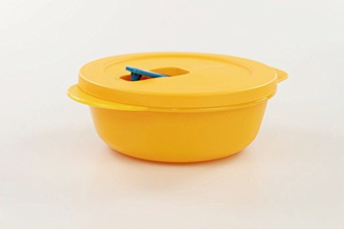 Tupperware - Contenitore per microonde CrystalWave da 600ml, contenitore Pop-Plus per microonde 17597, arancione
