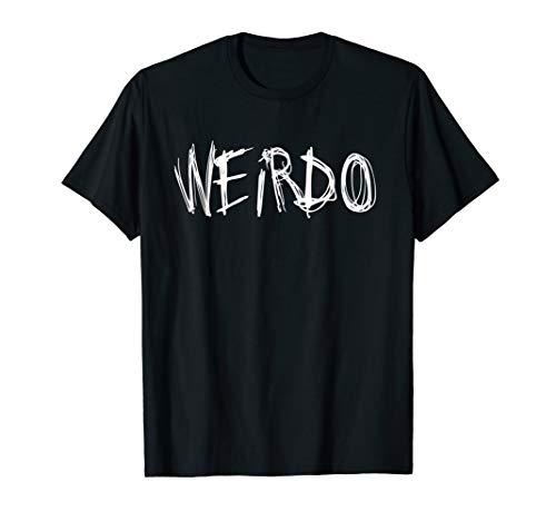 WEIRDO Emo Lustiges Goth Heavy Metal Kawaii Weird Geschenk T-Shirt