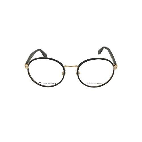Marc Jacobs MARC-516 807 - Gafas de plástico acetato, color negro y dorado