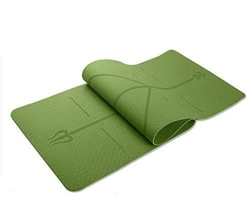 GI Yoga Matte aus Umweltfreundlichen TPE- Matrial eignet Sich hervorragend als Sportmatte, Yogamatte, Gymnastikmatte und für Pilates. Die Fitnessmatte hat die Maße: 183 x 61 x 0,6cm 1 Jahr Garantie