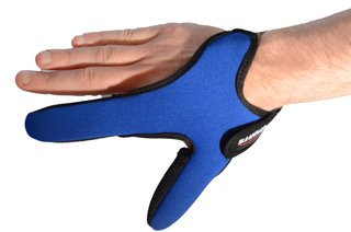 Right handed Casting glove for Sea Fishing/Carp Fishing. Finger and Thumb Protection by jhw trading