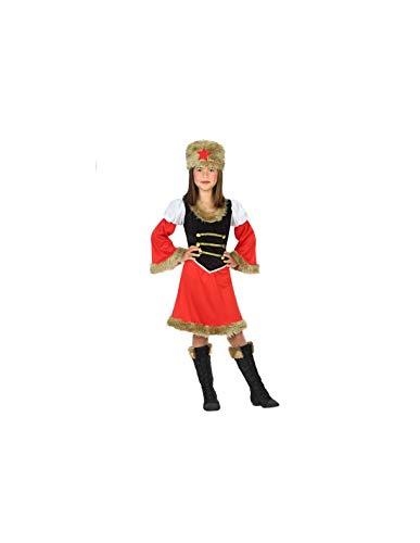 DISBACANAL Disfraz de Rusa para niña - -, 5-6 años
