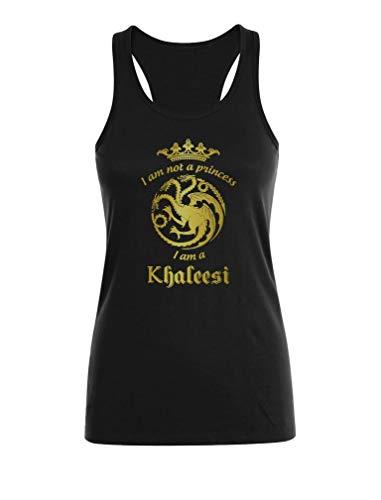 Camiseta sin Mangas para Mujer - -I'm Not A Princess I'm A Khaleesi- Regalo Original para Mujeres