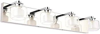 Pasoar Modern 4-Light Bathroom Vanity Light