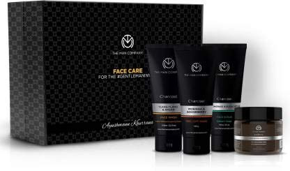 The Man Company Diwali Ayushmann Face Care Box | Made in India