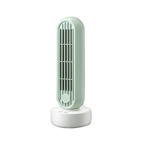 WQLP Piccolo ventilatore elettrico senza ventilatore senza foglie ufficio desktop dormitorio piccolo ventilatore elettrico mini ventilatore a torre ventilatore a piattaforma silenziosa per la casa sil
