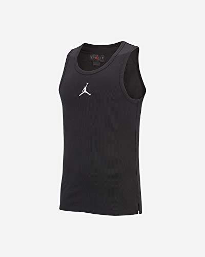 Nike Herren M J 23ALPHA Buzzer Beater Tank Top, Black/White, S