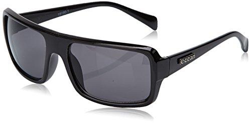 Ocean Sunglasses - Recfort - lunettes de soleil polarisées - Monture : Noir Laqué - Verres : Fumée (18180.1)