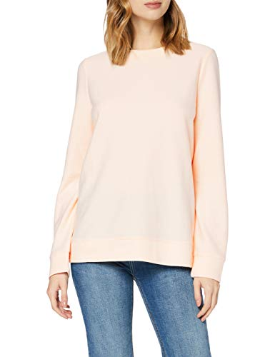 Amazon-Marke: find. Damen Sweatshirt Soft Touch Funnel Neck, Pink (Pink), 38, Label: M
