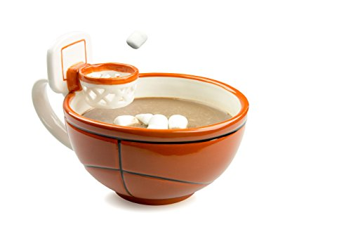 Basketball Coffee Mug With A Hoop