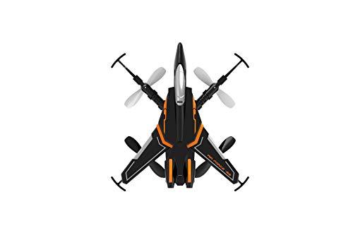 RC TECNIC Drone en Forma de Avion | F4 Dron para Principiantes y Niños | con Control de Altura y Despegue y Aterrizaje Automático