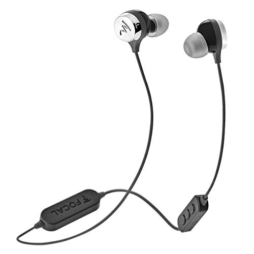 Focal Sphear Wireless Earbuds with Three-Button Remote and Microphone (Black)