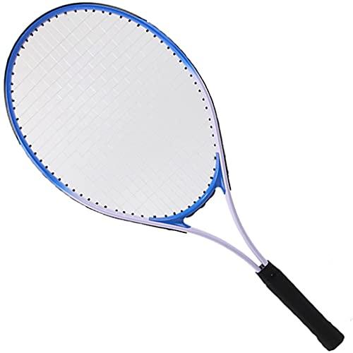 MaxTom Raqueta de Tenis Raqueta de Entrenamiento para Principiantes, Juego de Raquetas de Tenis para Hombres y Mujeres Adultos para Adolescentes, Raqueta de Tenis Ligera roja todopoderosa