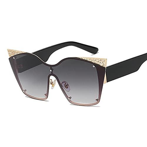 WANGZX Gafas De Sol De Ojo De Gato Gafas De Moda para Mujer Gafas De Sol De Conducción para Hombres Gafas De Sol De Viaje Al Aire Libre Gafas Geniales Uv400