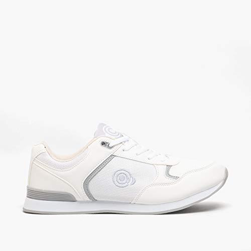 Dek Kitty damskie sznurowane buty do kręgli / trampki białe, szare, - biały - 39 EU