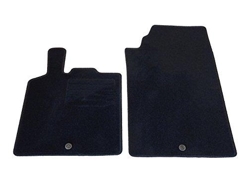 Auto Fußmatten Velours Set 2-teilig passgenau,schwarz