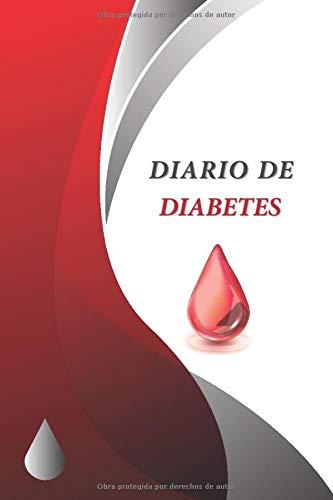 Diario de Diabetes: Registro Niveles de Azúcar | Libro para diabéticos | 108 semanas (2 años) (Sp