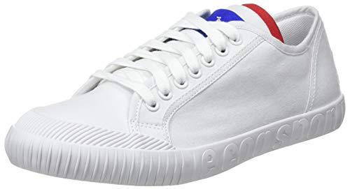 LE COQ SPORTIF Nationale, Zapatillas Unisex Adulto, Blanco Optical White, 41 EU