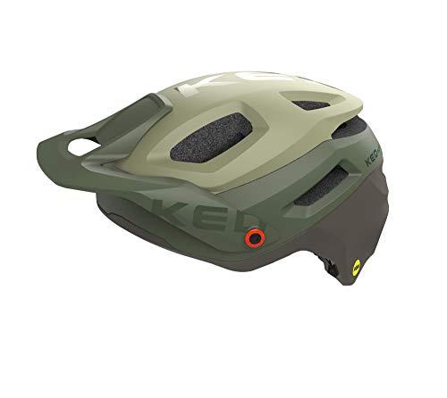 KED Pector ME1 M Olive Lilac - 52-58 cm - inkl. RennMaxe Sicherheitsband - Fahrradhelm Skaterhelm MTB BMX Erwachsene Jugendliche