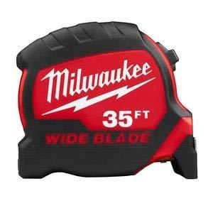 Milwaukee 35 ft. Wide Blade Premium Tape Measure (48-22-0235)
