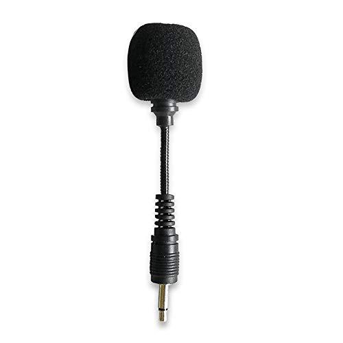 Festnight Mini micrófono con Banda Sonora Mono Enchufe de 3,5 mm para grabación/transmisión en Vivo Compatible con Altavoz