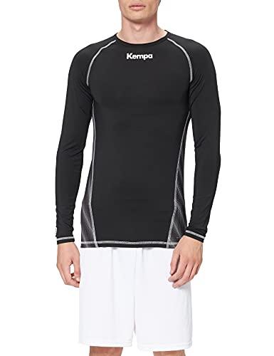 Kempa odzież teamsport attitude koszulka z długim rękawem dla dzieci, czarna, 152