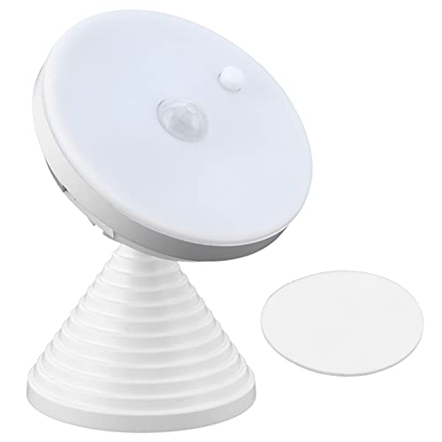FOLOSAFENAR Luz Nocturna, detección Inteligente Fuente de luz Saludable y Segura Luz del Sensor de Movimiento para la Puerta del Pasillo