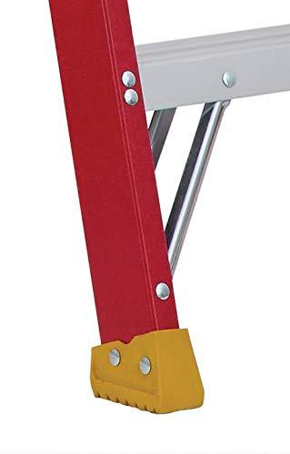 Louisville Ladder L-3016-10 300-Pound Duty Rating Fiberglass Stepladder, 10-Feet