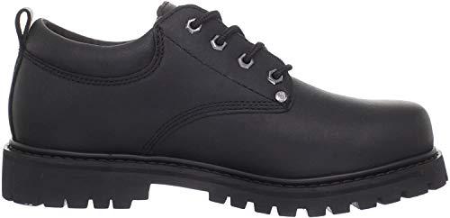 Skechers - Chaussures à Lacets Tom Cats - Homme (39,5 FR) (Noir)