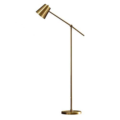 ZGP-LED Luces de piso Lámpara de pie moderna nórdica Salón Dormitorio estadounidense lámpara de lectura Estilo Rocker Sala de Estudio vertical del vector de la lámpara lámpara de cabecera de la lámpar