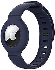 Kinderen anti-verloren siliconen band armband beschermhoes voor Apple AirTag, GPS kinderen anti-verloren, verstelbare tracking locator voor kinderen