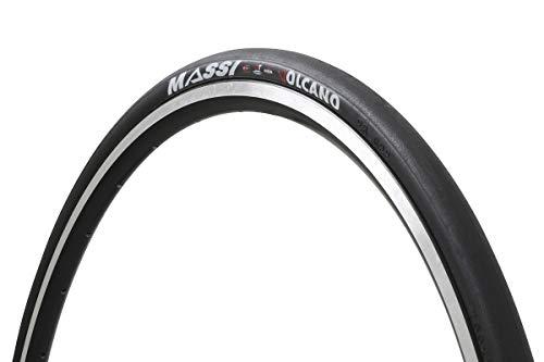 Massi Volcano 700x23 aro Flexible Cubierta, Deportes al Aire Libre, Ciclismo,componentes de Bicicleta, Negro, 700 x 23